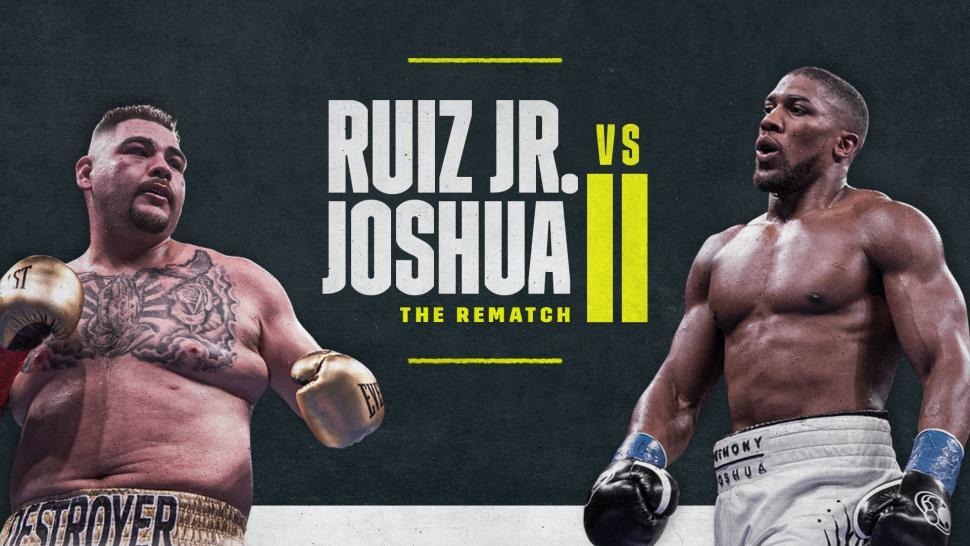 Andy Ruiz defends his title against former champion Anthony Joshua.