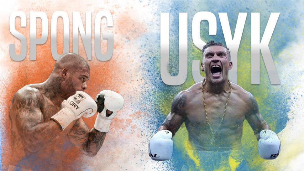 Oleksandr Usyk next fight vs Tyrone Spong.