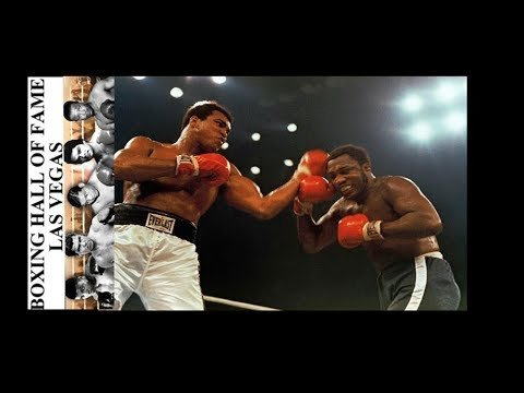 Muhammad Ali vs Joe Frazier in Manilla the Philippines.