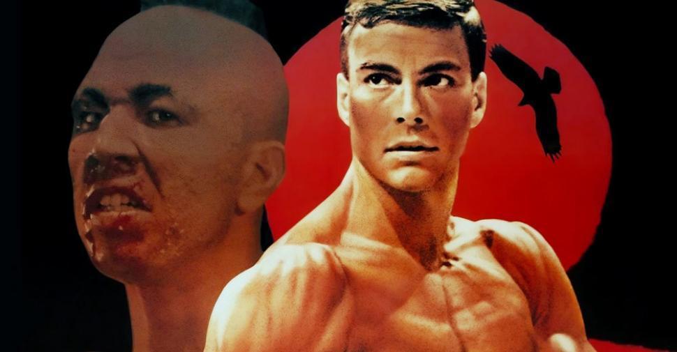 Kickboxer 1989 Jean Claude Van Damme movie poster.