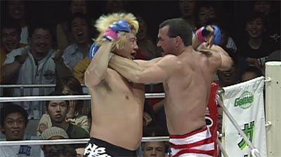Don Frye vs Yoshihiro Takayama Pride 21