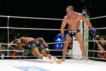 Champion Wanderlei Silva vs Quinton Rampage Jackson 2.