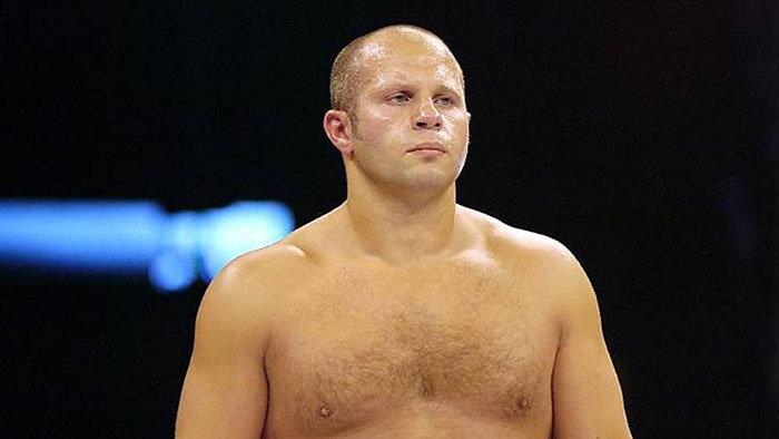 Fedor Emelianenko in Pride Fighting Championships.