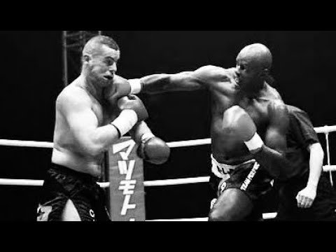 Ernesto Hoost fighting in k-1 kickboxing.