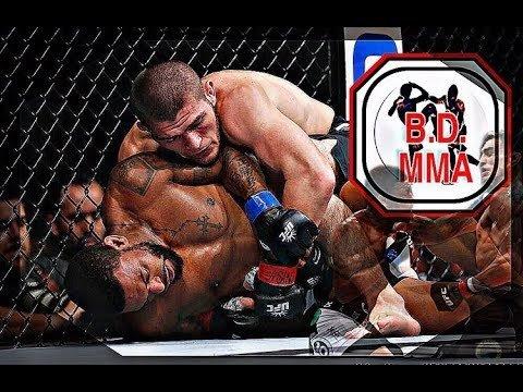 khabib Nurmagomedov fighting Michael Johnson.