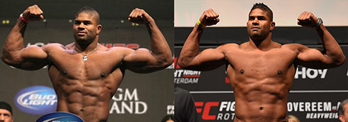Alistair Overeem steroid abuse scandal.