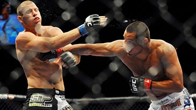 Dan Henderson knocks out Michael Bisping UFC 100