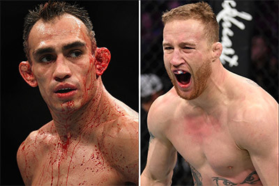 El Cucuy Tony Ferguson and Justin Gaethje UFC lightweights.