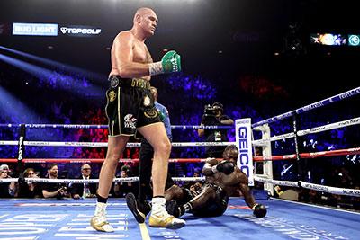 Tyson Fury dominates Deontay Wilder in their rematch.