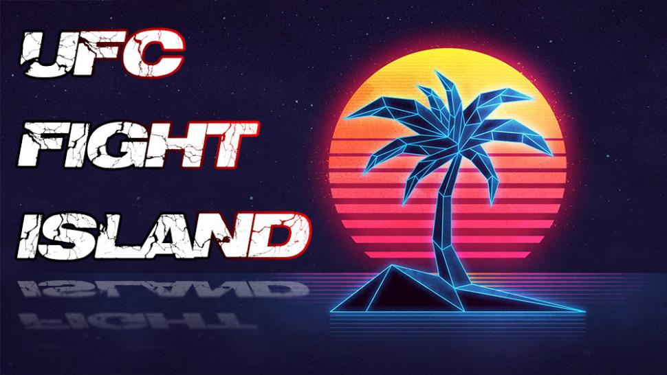 UFC fight Island logo on MMA Micks.
