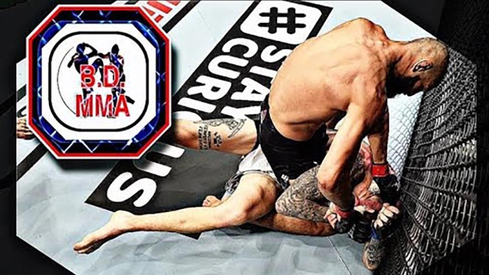 Khamzat Chimaev making his UFC debut.