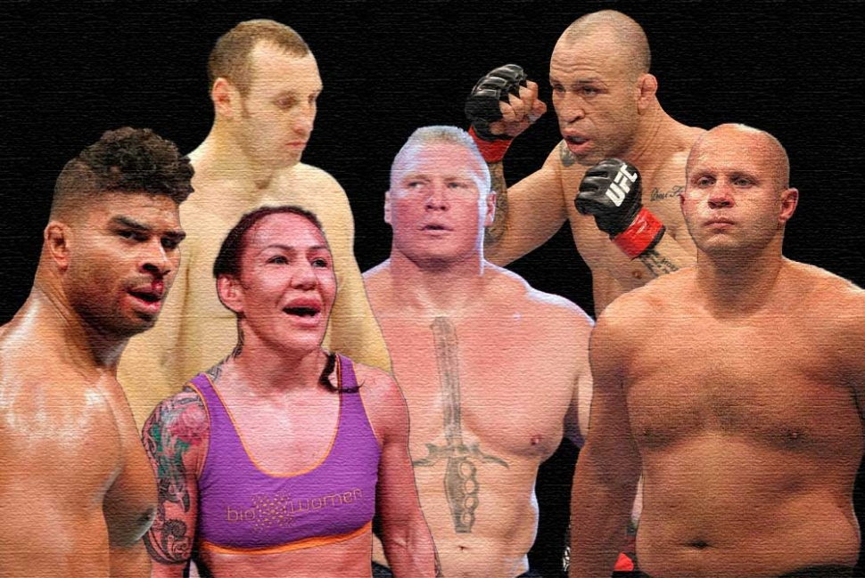 The most intimidating MMA fighters in history.