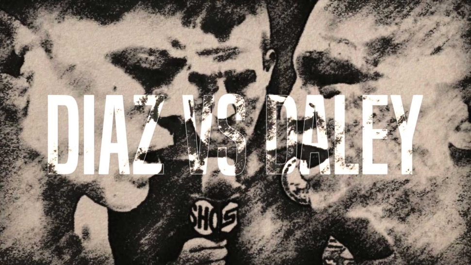 Champion Nick Diaz And Paul Daley Face To Face At Strikeforce.