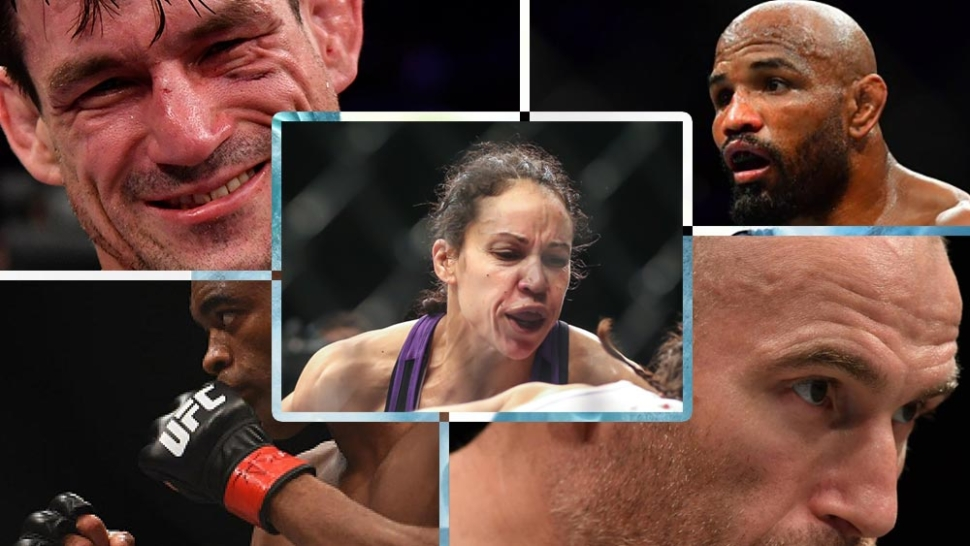Some of the oldest active UFC fighters.