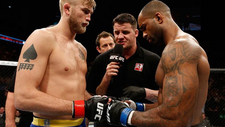 Alexander Gustafsson vs Jimi Manuwa fight night Stockholm