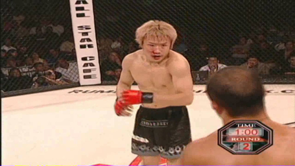 Bj Penn Against Takanori Gomi 2003.