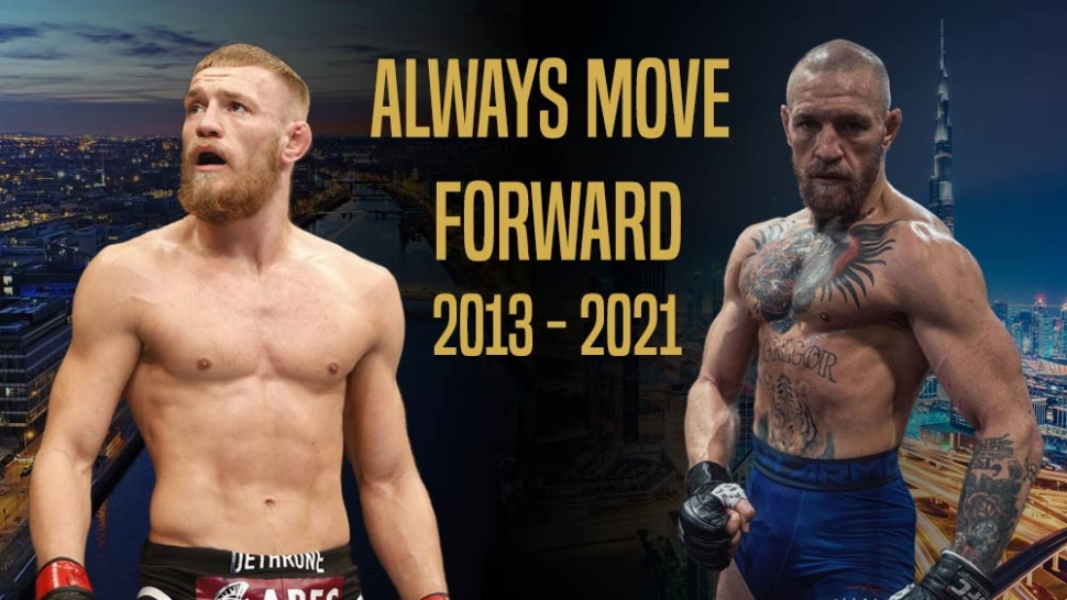 Conor Mcgregor From 2013 To 2021.