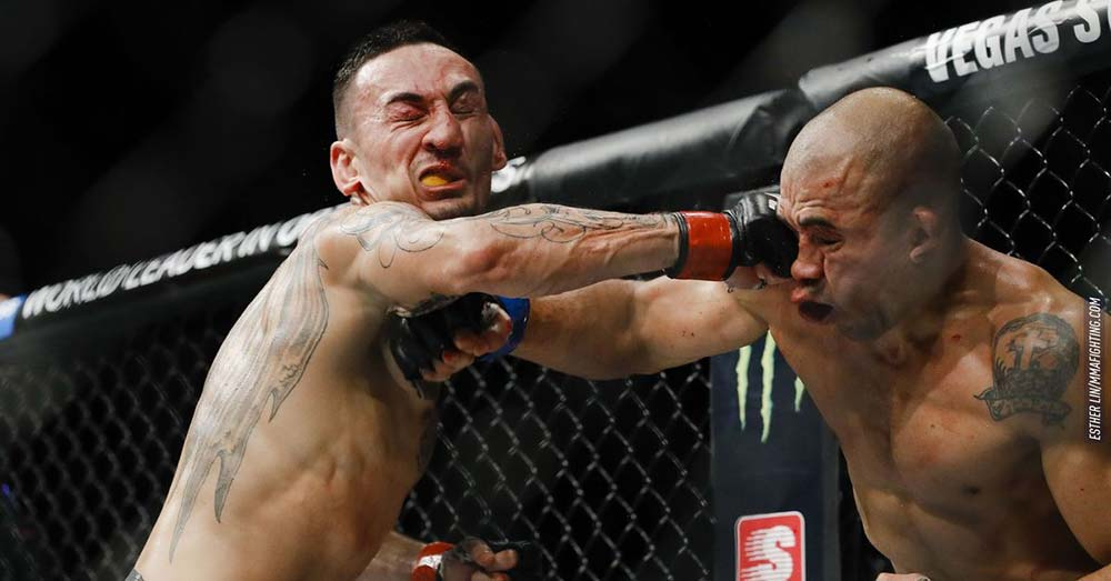 Max Holloway vs Jose Aldo UFC 218