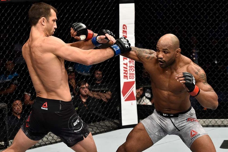 Luke Rockhold vs Yoel Romero UFC 221 Countdown.