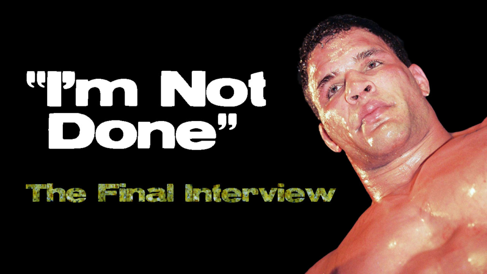Mma Heavyweight Mark Kerr Pride Fc Interview